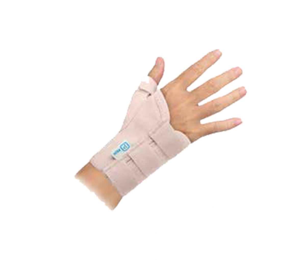 SHORT WRIST SUPPORT WITH THUMB (13CM) - LL C700