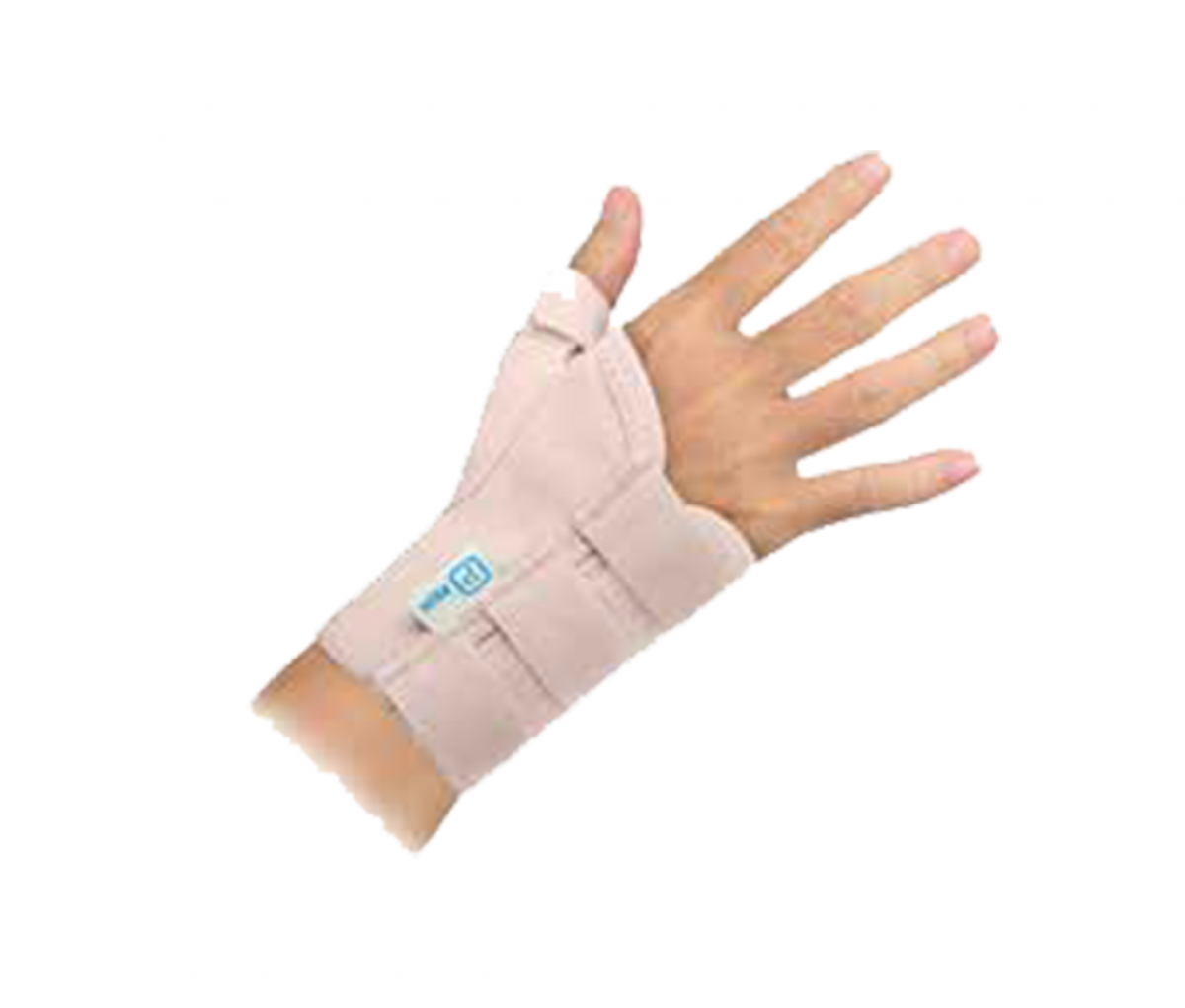 SHORT WRIST SUPPORT WITH THUMB (13CM) - LR C700