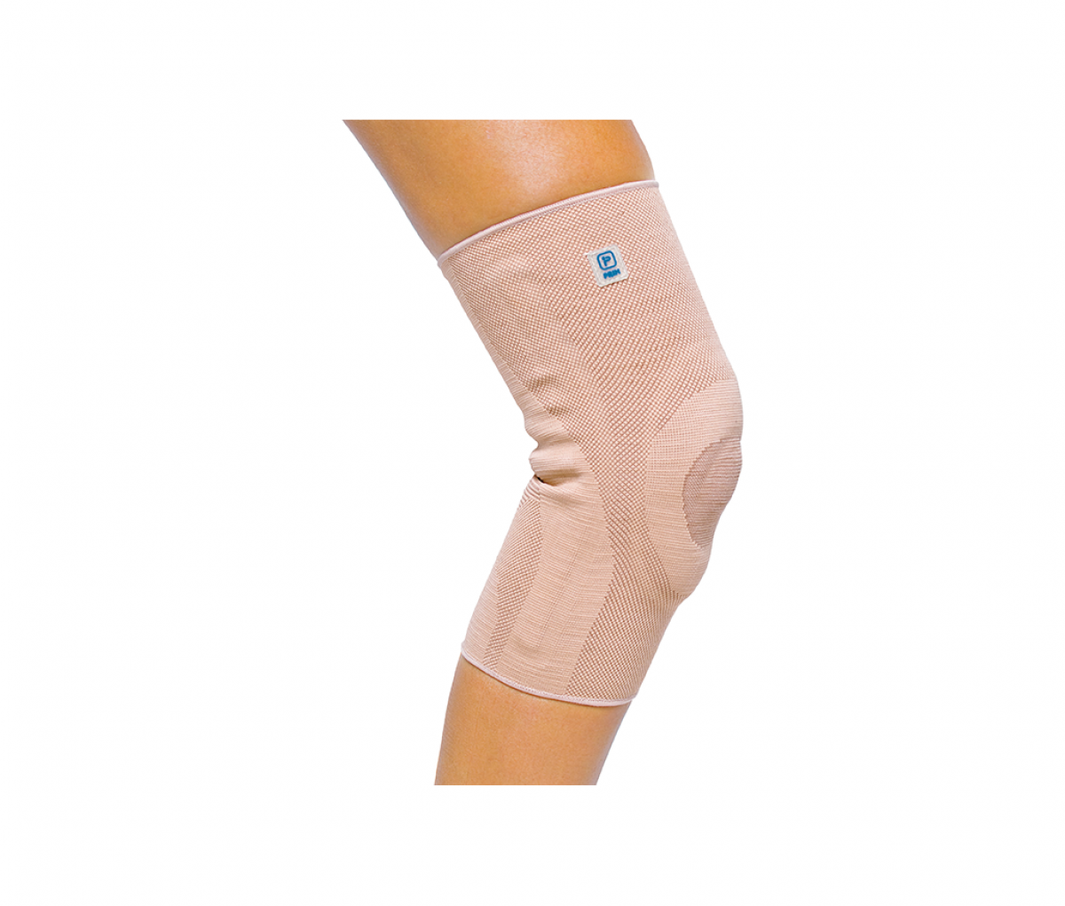 AQTIVO KNEE BRACE WITH SILICONE INSERT AND STAYS - L P701BG