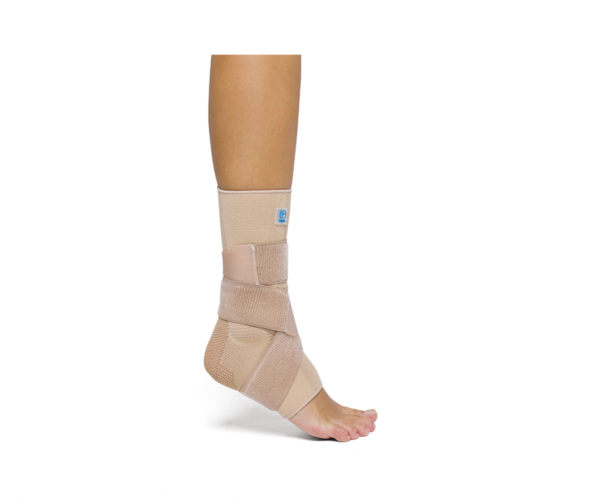 AQTIVO ANKLE BRACE WITH FIGURE OF 8 STRAP - S P706BG