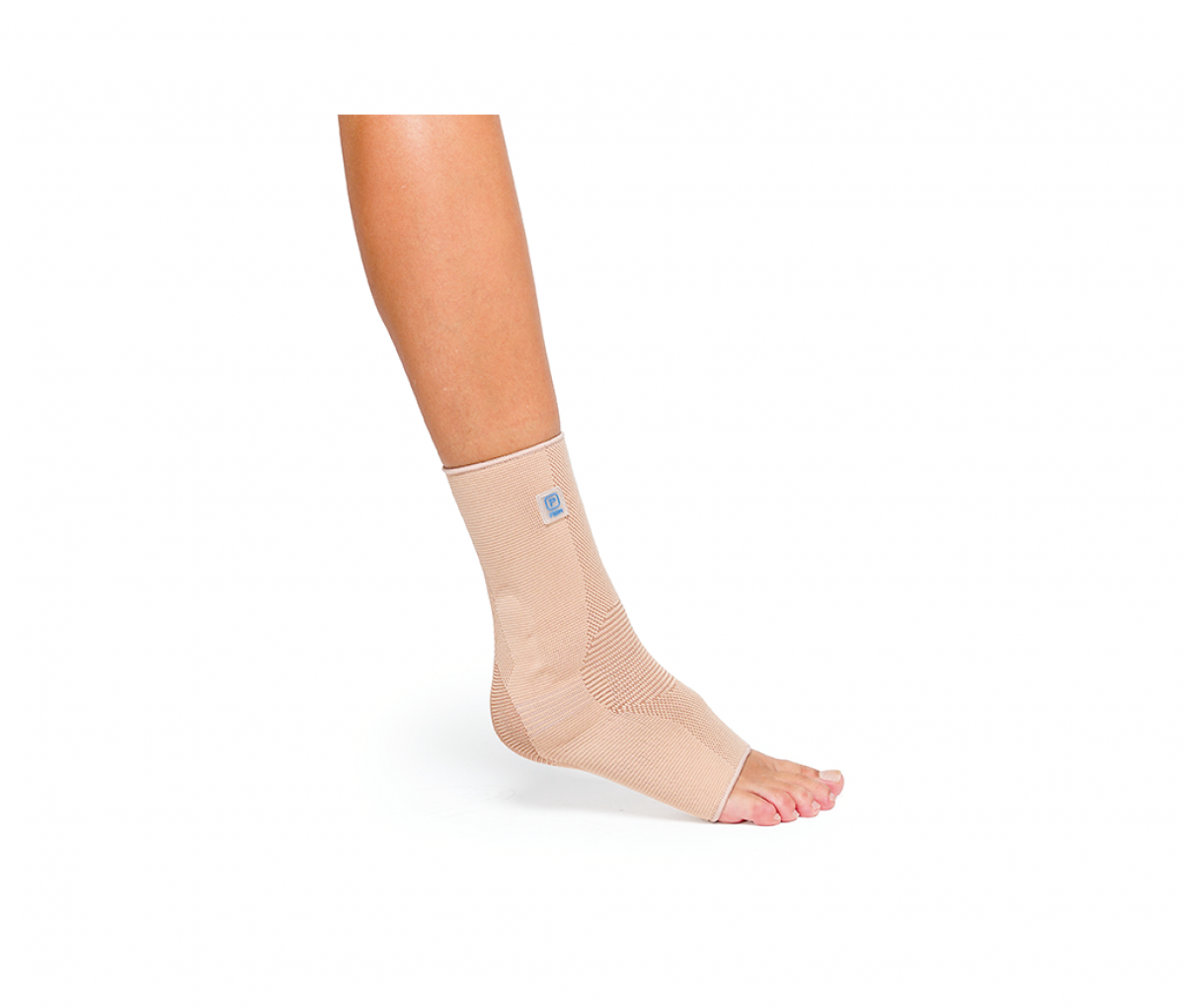 AQTIVO ANKLE BRACE WITH SILICONE INSERT - S P705BG