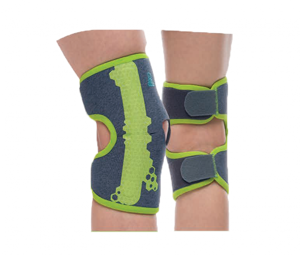 KNEE SUPPORT WITH PATELLA PAD AND STAYS - T1 MPK700