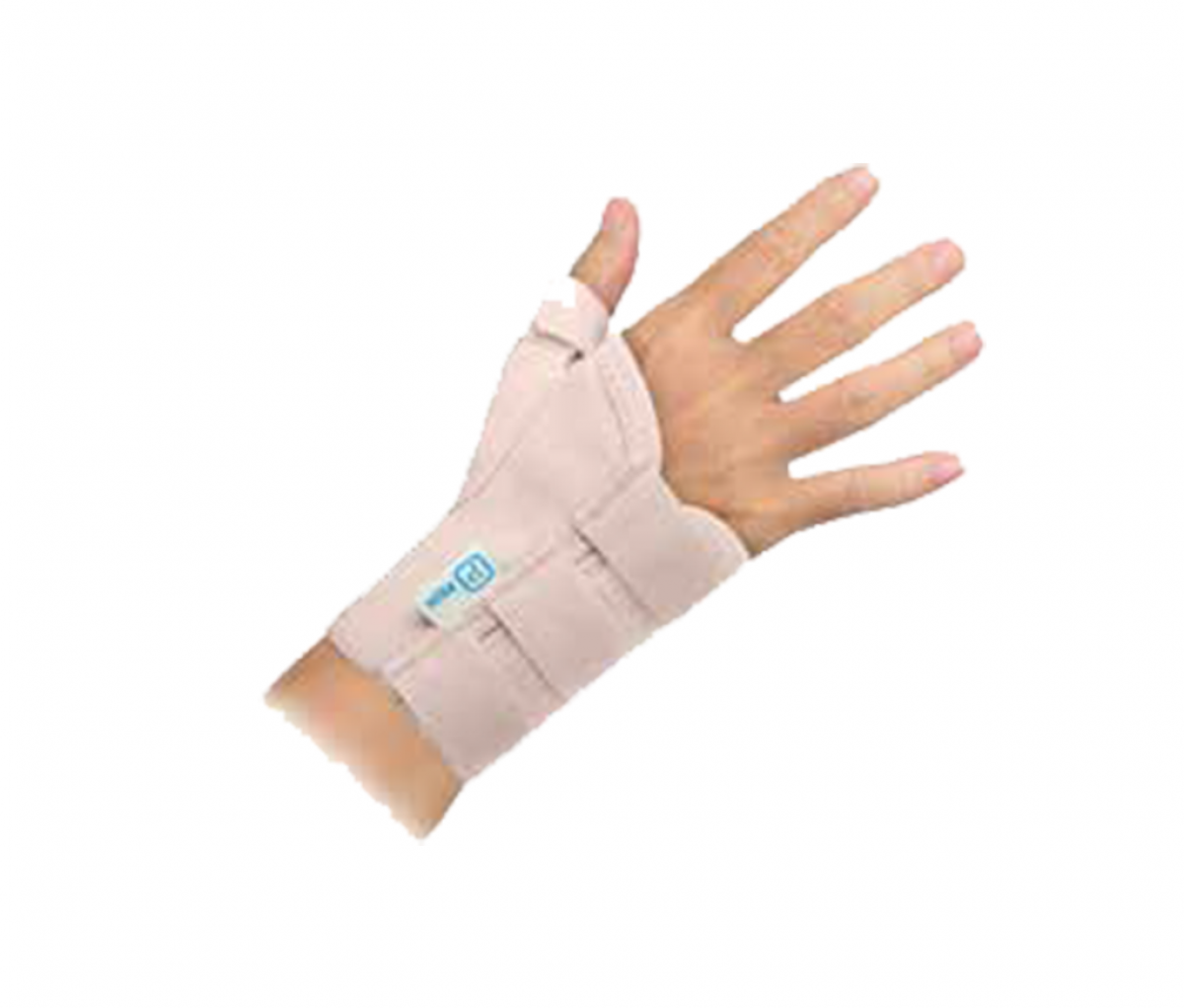 SHORT WRIST SUPPORT WITH THUMB (13CM) - XLL C700