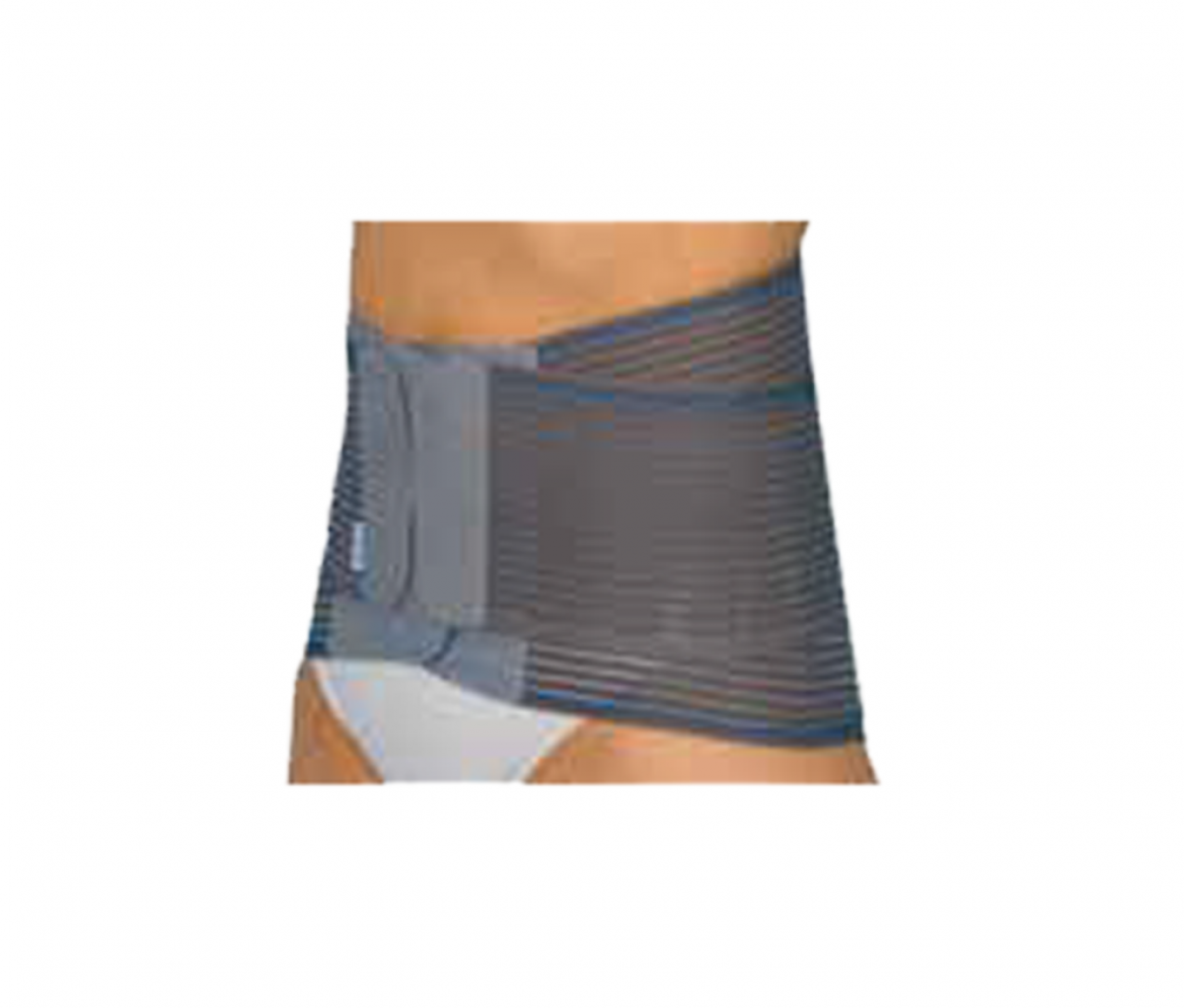 ACTION SEMIRIGID BACK SUPPORT WITH TENSOR - L 981G