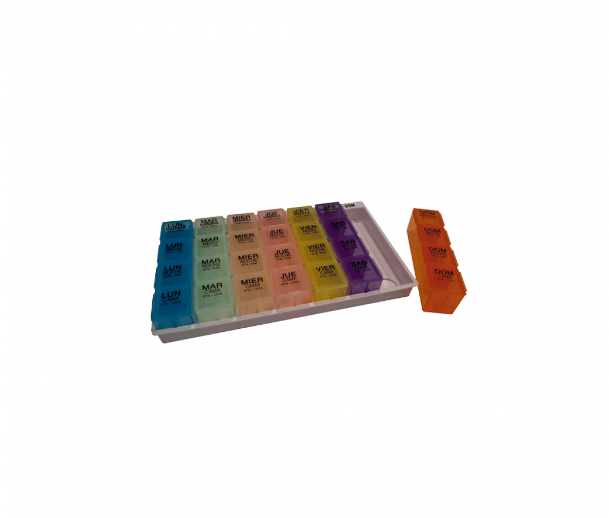 WEEKLY PILL ORGANISER 1 DOSE - LARGE 300458