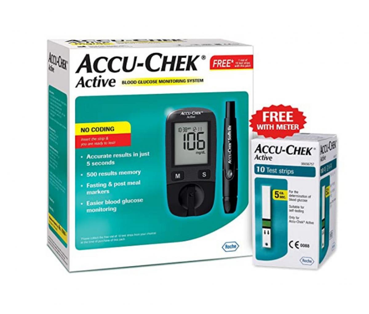 Accu Check Active Glucometer