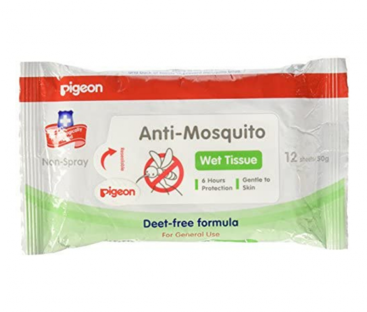 ANTI-MOSQUITO WET TISSUES, 12S WITH INNER CARTON  [26236H]
