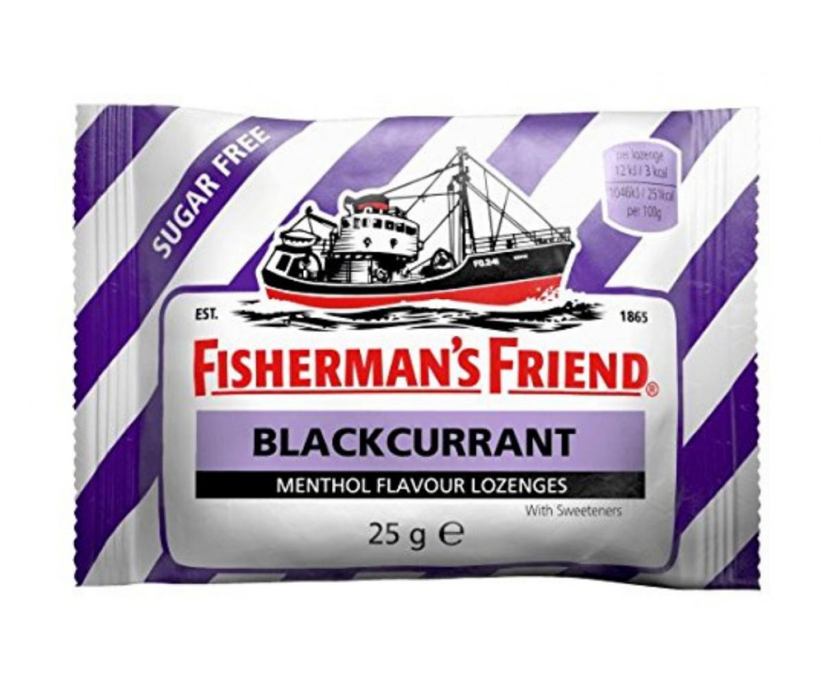 Fisherman's Friend Sugar free Blackcurrant 25g