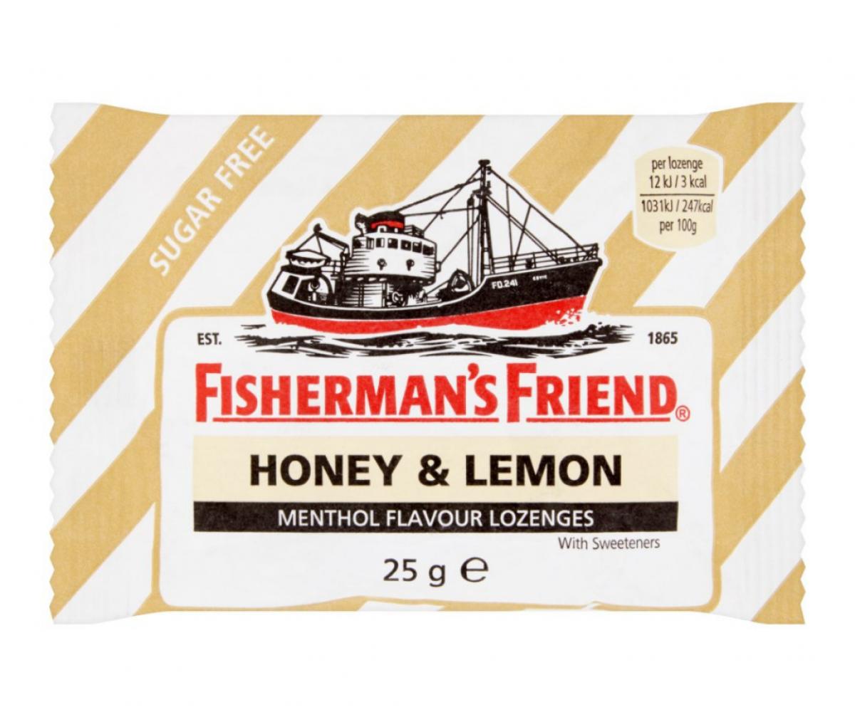 Fisherman's Friend Sugar free Honey & Lemon 25g
