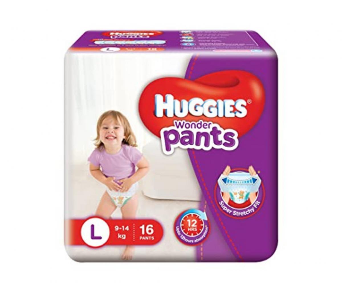 Huggies Wonder Pants Large 16's