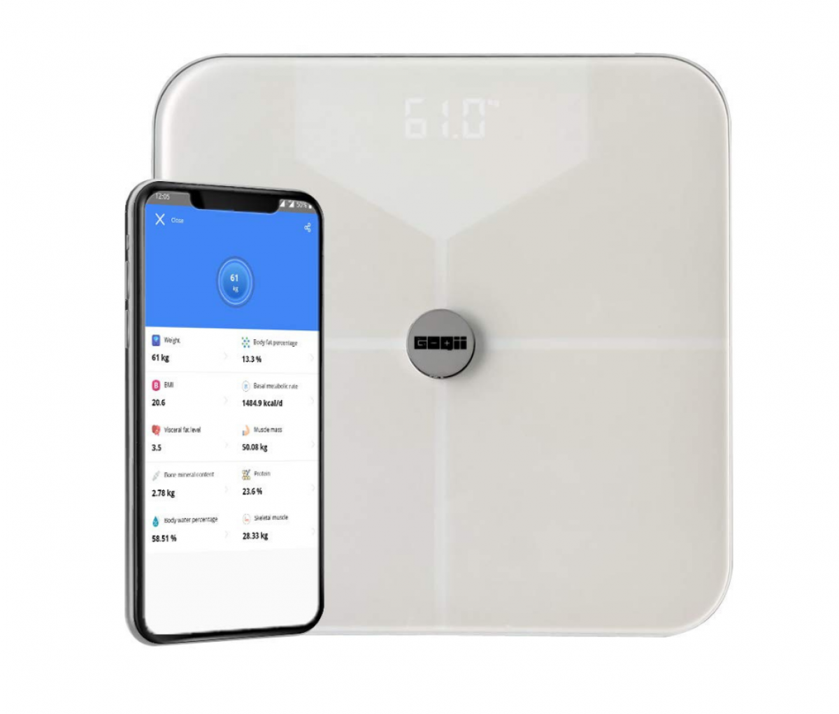 GOQii Balance Body Composition Monitor with 3 months Personal Coaching