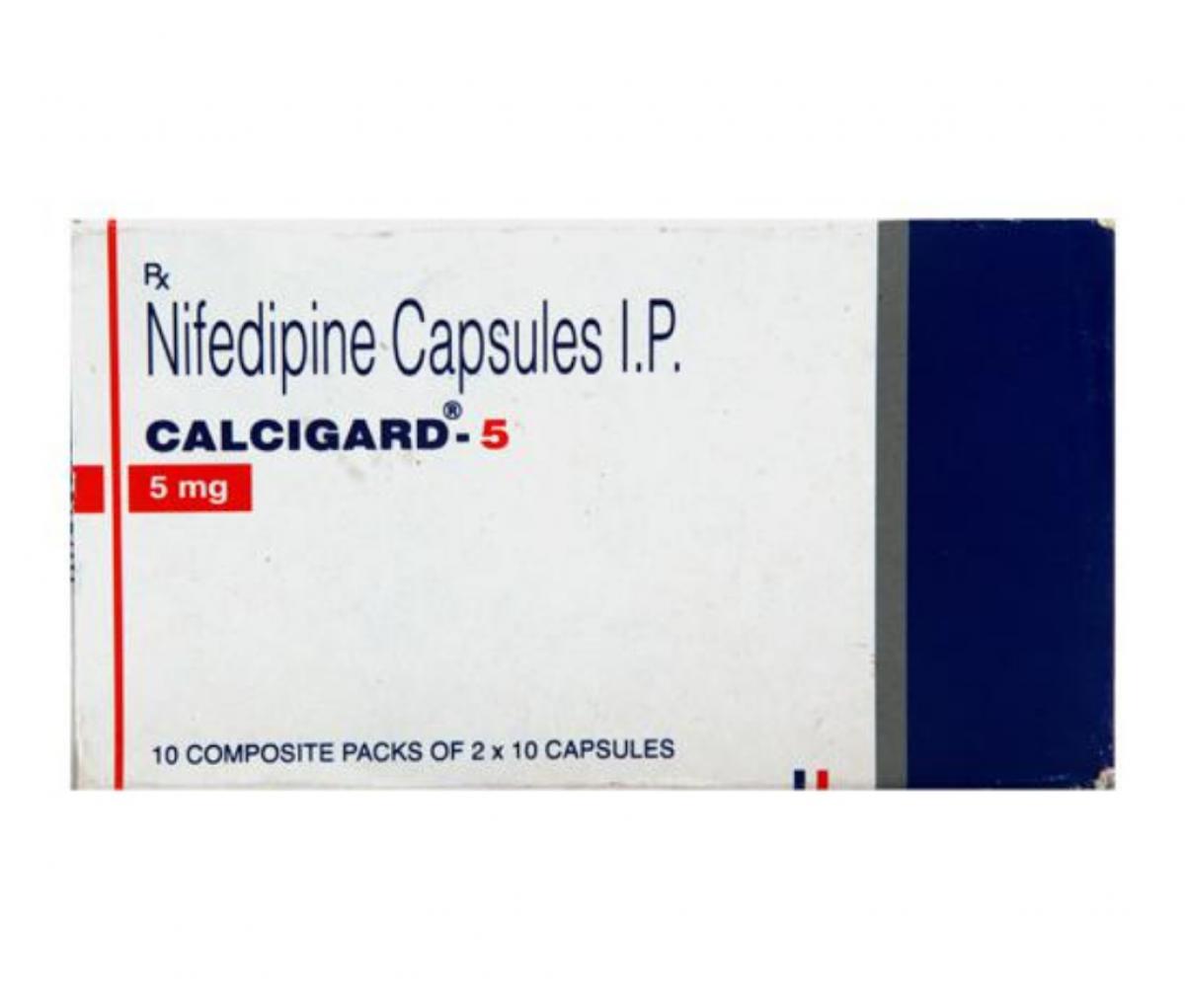 Calcigard 5mg Soft Gelatin Capsule