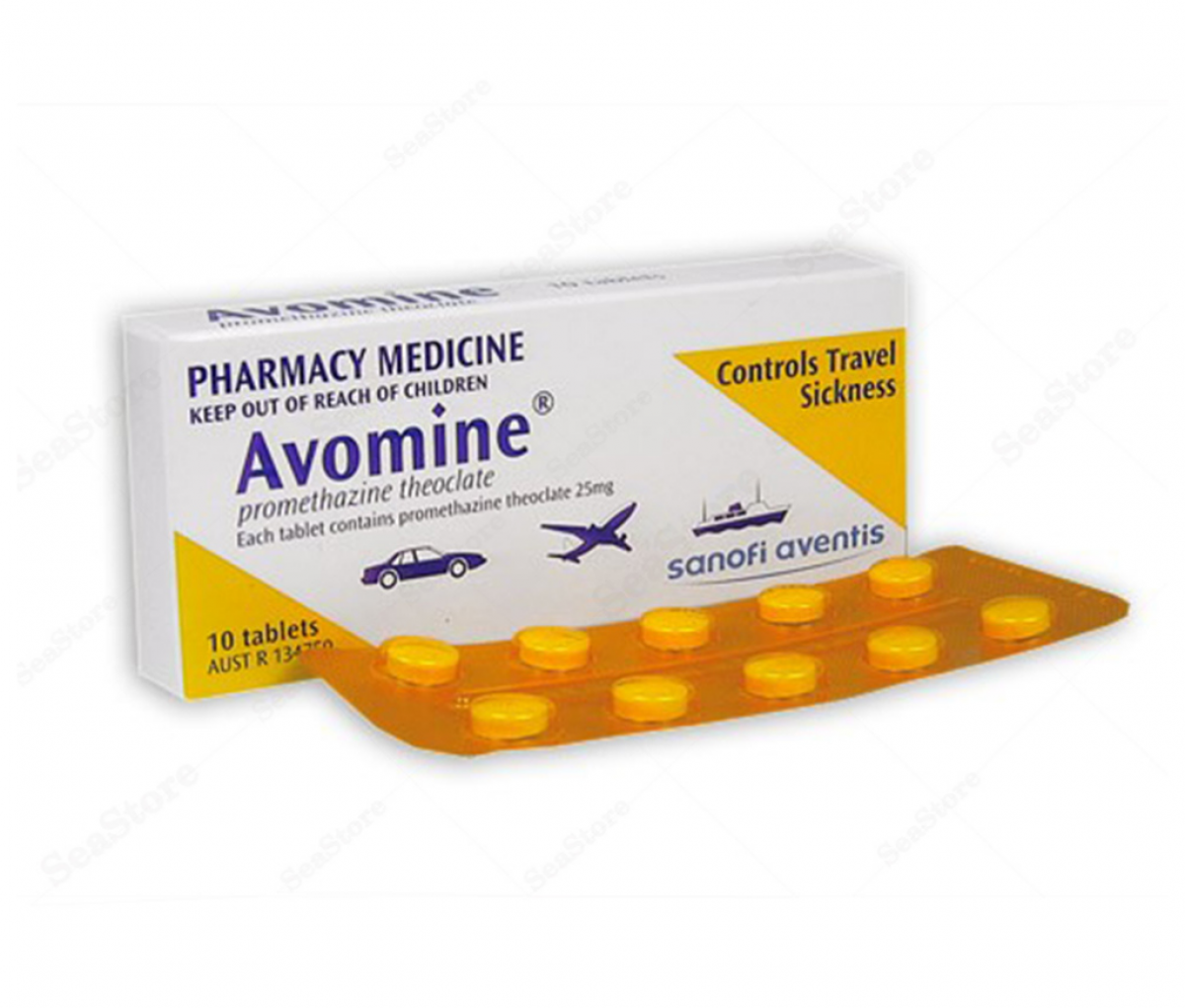 Avomine 25mg Tablet - Sanofi
