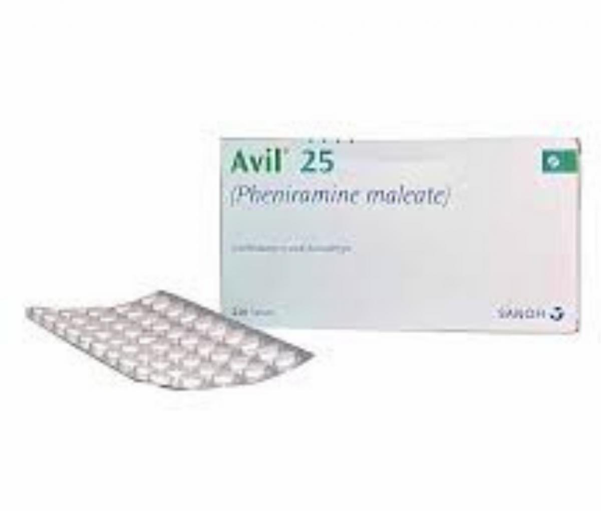 Avil 25mg Tablet