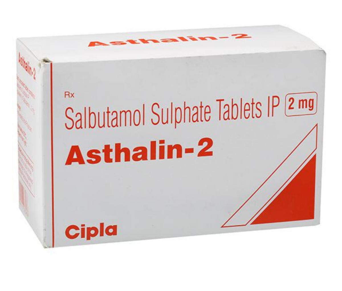 Asthalin 2mg Tablet