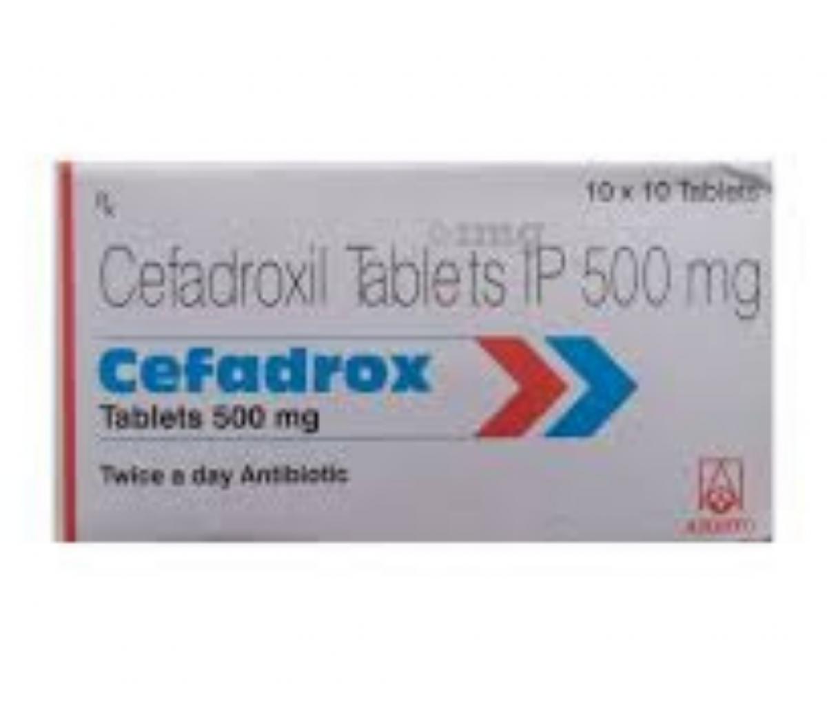 Cefadrox 500mg Tablet