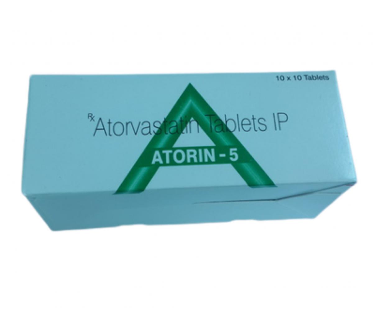 Atorin 5mg IP Tablet