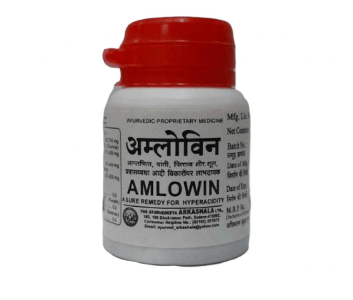 Amlowin 10mg (USP) Tablet