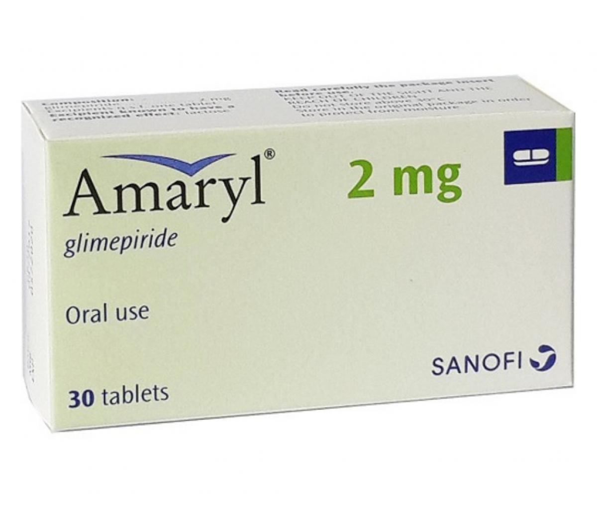 Amaryl 2mg Tablet