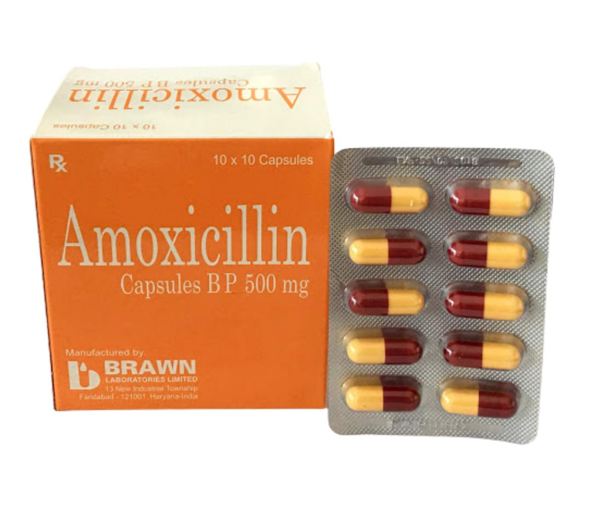 Amoxil 500mg Capsule