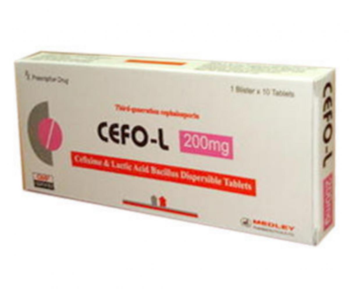 Cefo L 200mg Tablet