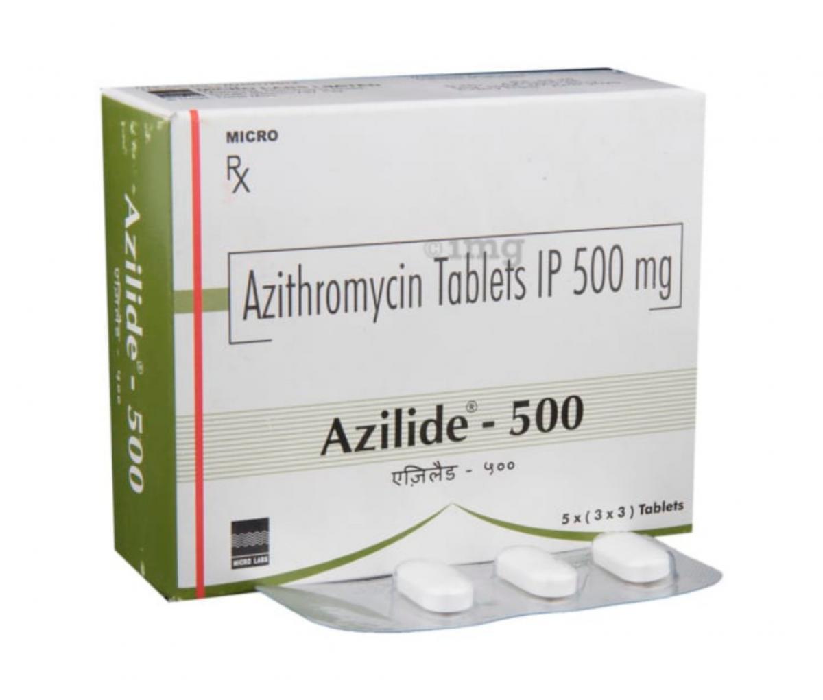 Azilide 500mg USP Tablet