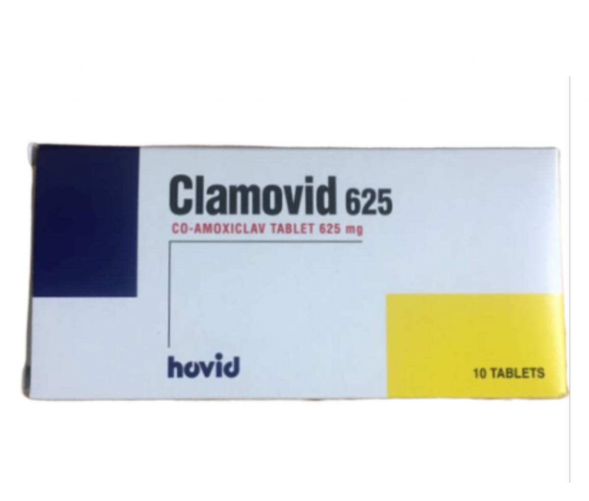 Clamovid 625mg Tablet