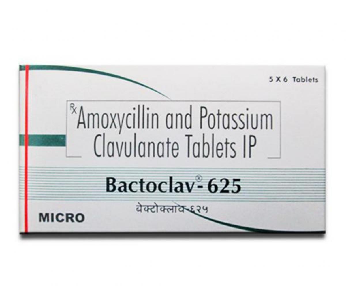 Bactoclav 625mg BP Tablet