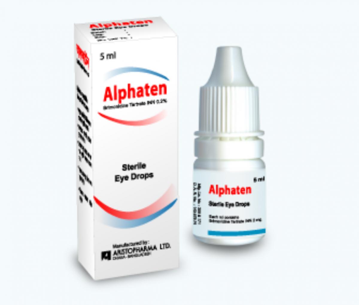 Alphaten 0.2% Eye Drop