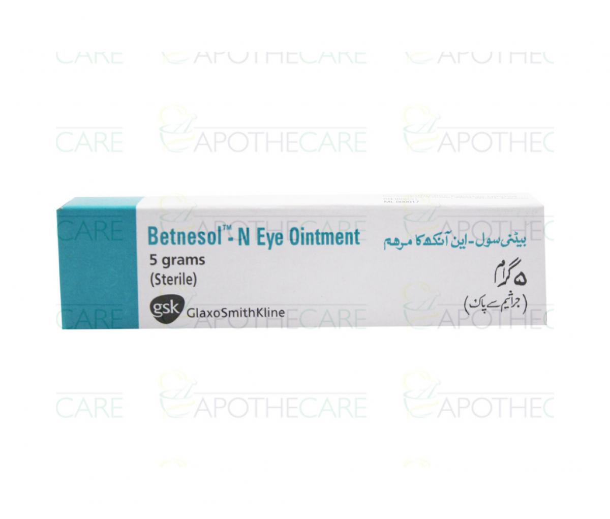 Betnesol N Eye Ointment 5g