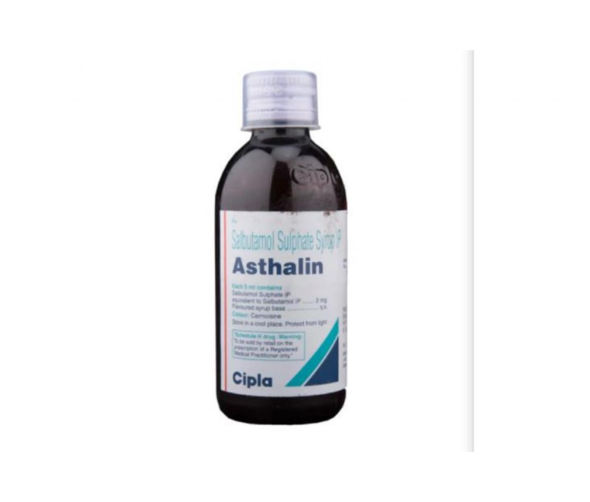 Asthalin 2mg/5 ml Syrup