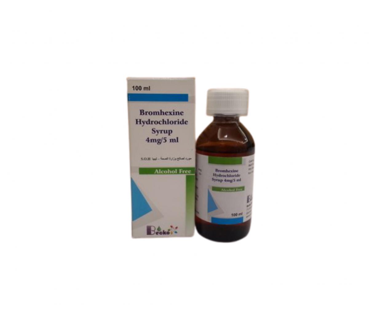 Bromhexine Hydrochloride 4mg/5ml Oral Liquid