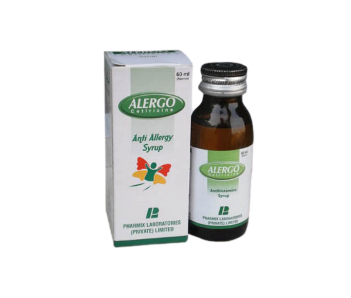 Alergo 5mg Oral Liquid 60ml