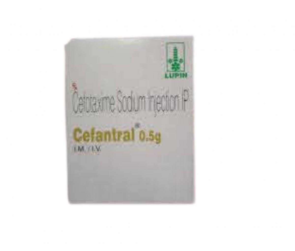 Cefantral 0.5g Injection