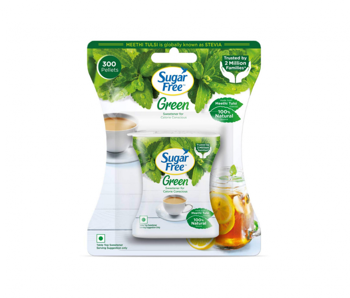 Sugar Free Green Stevia Pellets