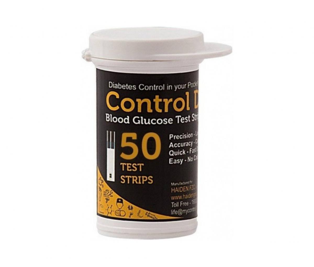 Control D Blood Glucose Test Strip