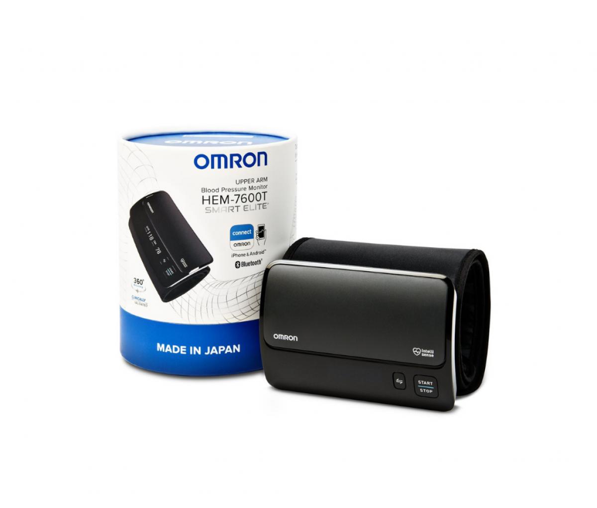 Omron HEM 7600T Smart Elite  Upper Arm Blood Pressure Monitor