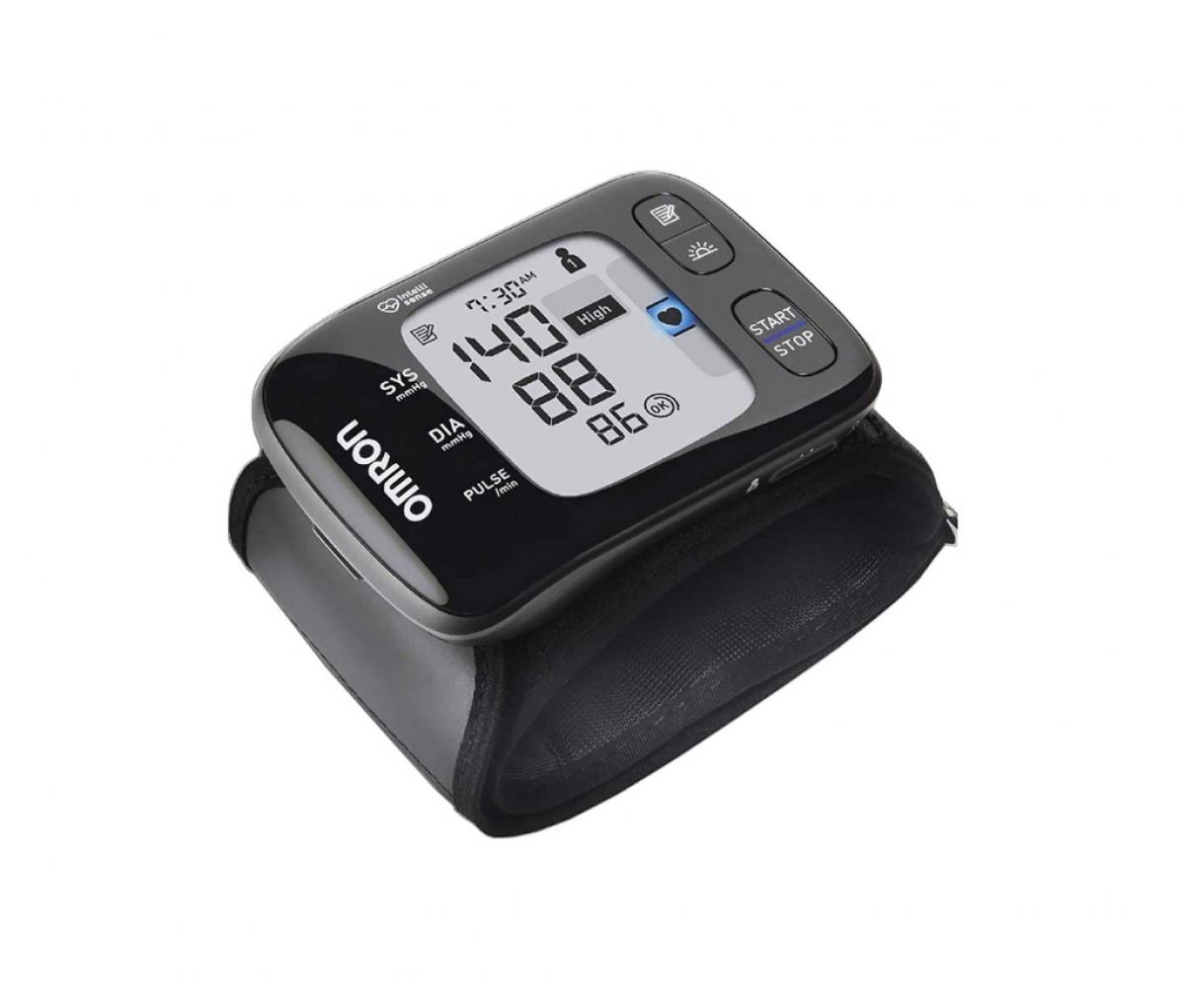 Omron HEM 6232T Bluetooth Wrist Blood Pressure Monitor Black