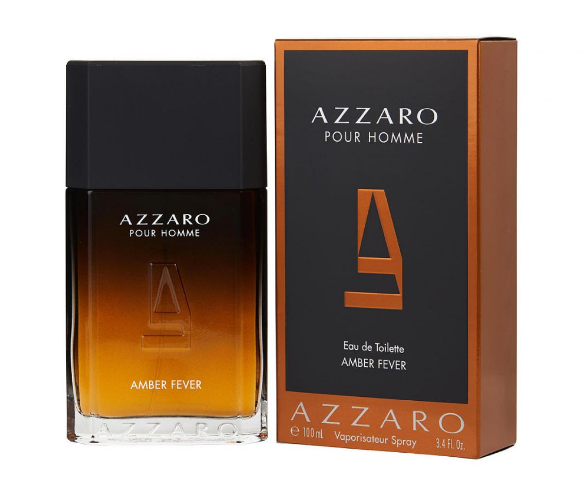 AZZARO POUR HOMME AMBER FEVER EDT 100ML