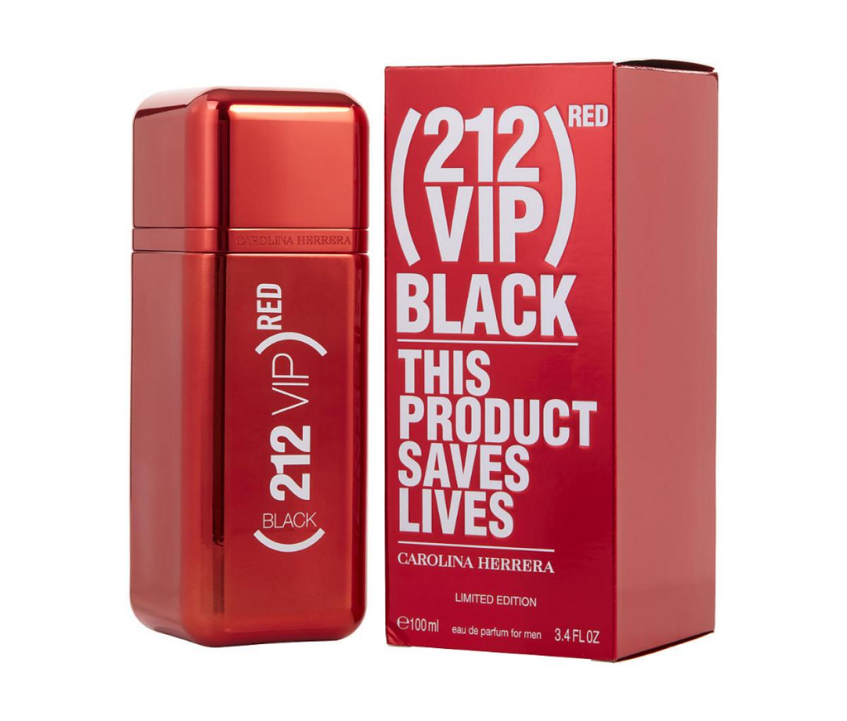 CAROLINA HERRERA 212 VIP BLACK L.E RED (M) EDP 100ML