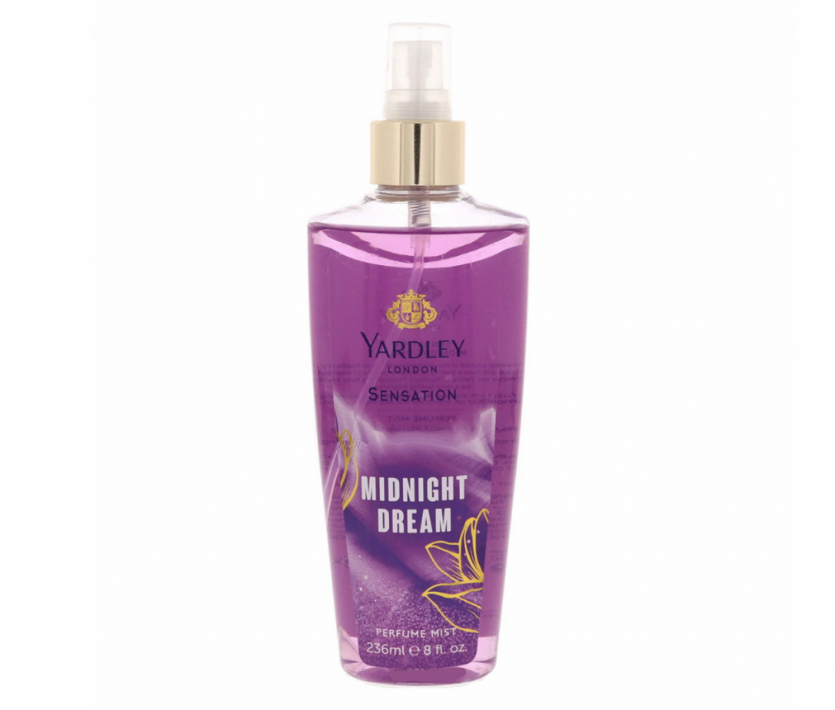 Yardley Body Mist 236ml Midnight Dream