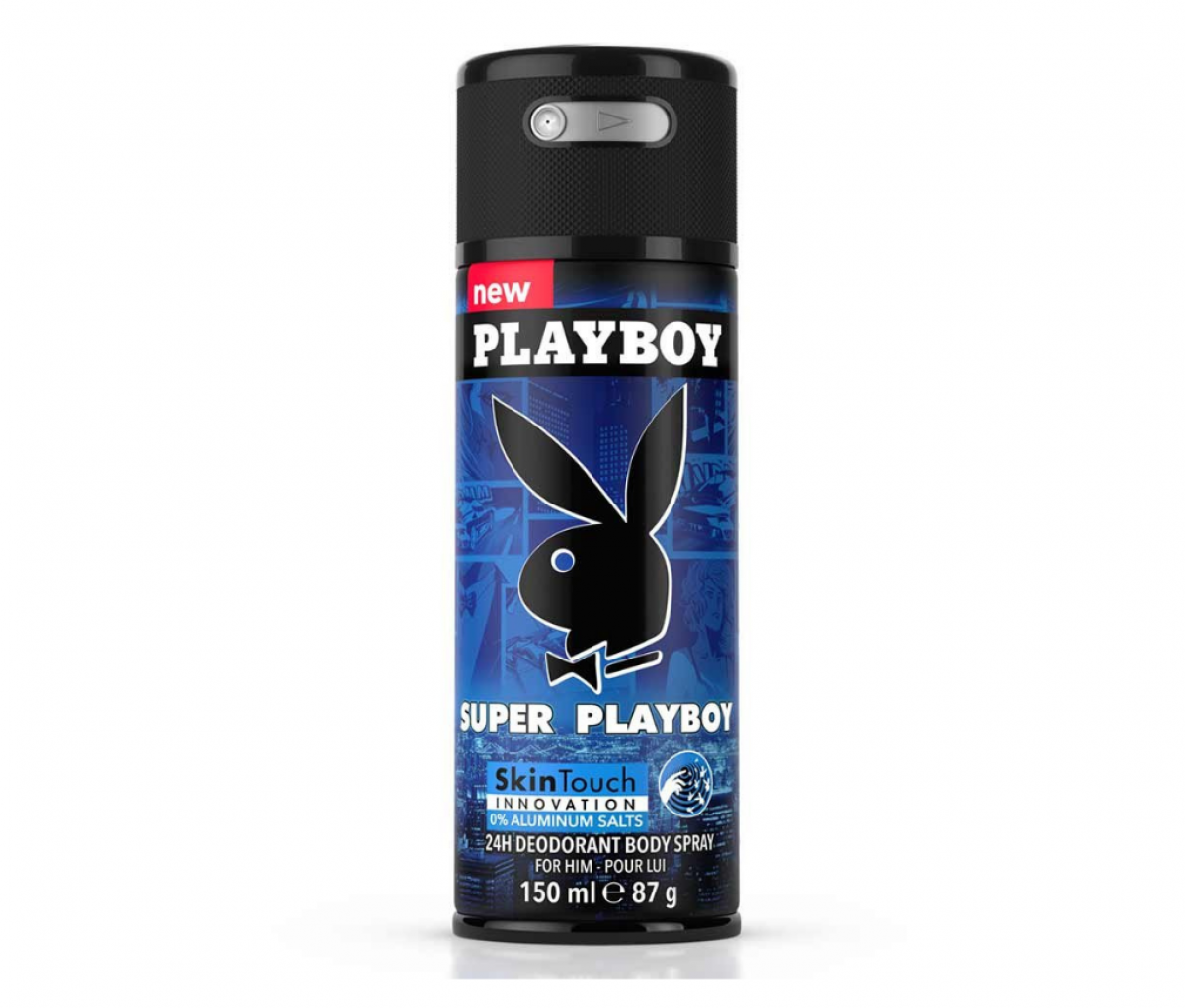 Playboy Deo 150ml Super Playboy