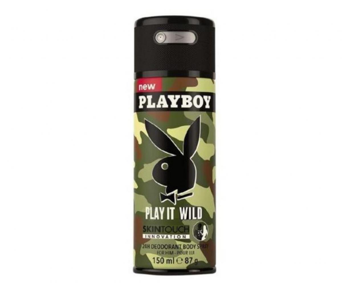 Playboy Deo 150ml Play It Wild