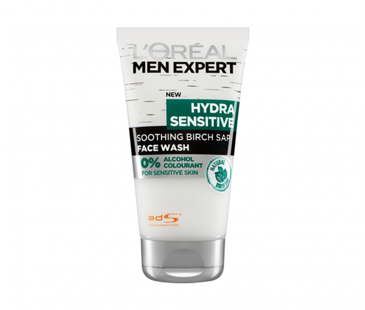 Loreal 150ml men expert hydra sensitive face wash