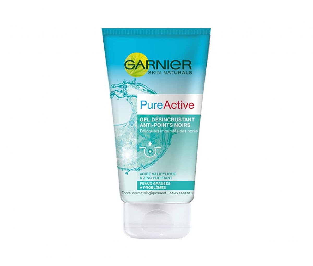 Garnier 150ml pure active anti points noirs gel w