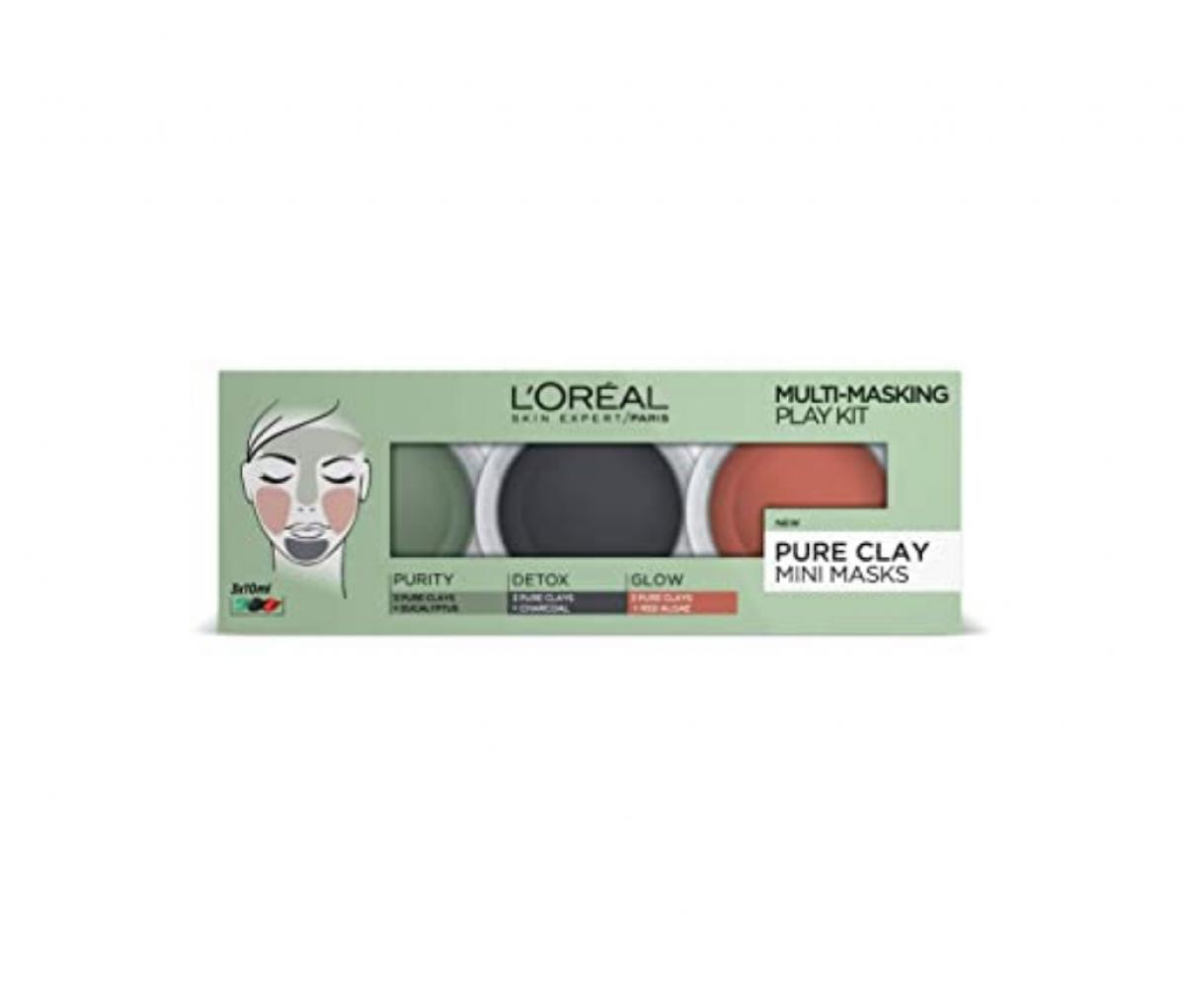 Loreal Multi Face Mask - Mini Set 10ml