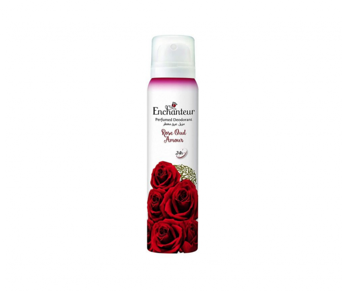 Enchanteur Deodorant 150ml Rose Oud Amour