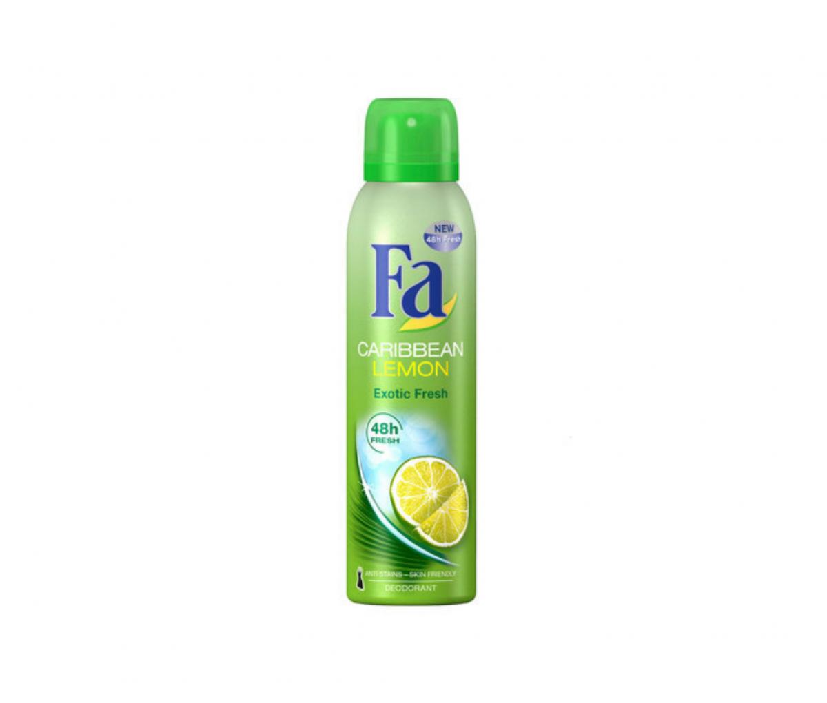 FA Deo 200ml Caribbean Lemon