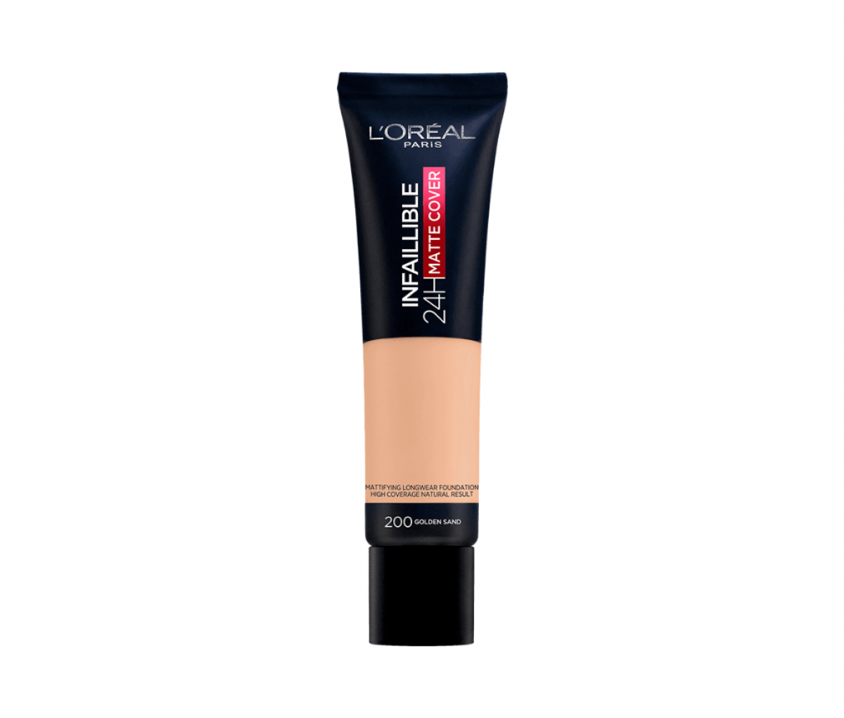 Loreal Infallible 200 Golden Sand Tube Matte Cover