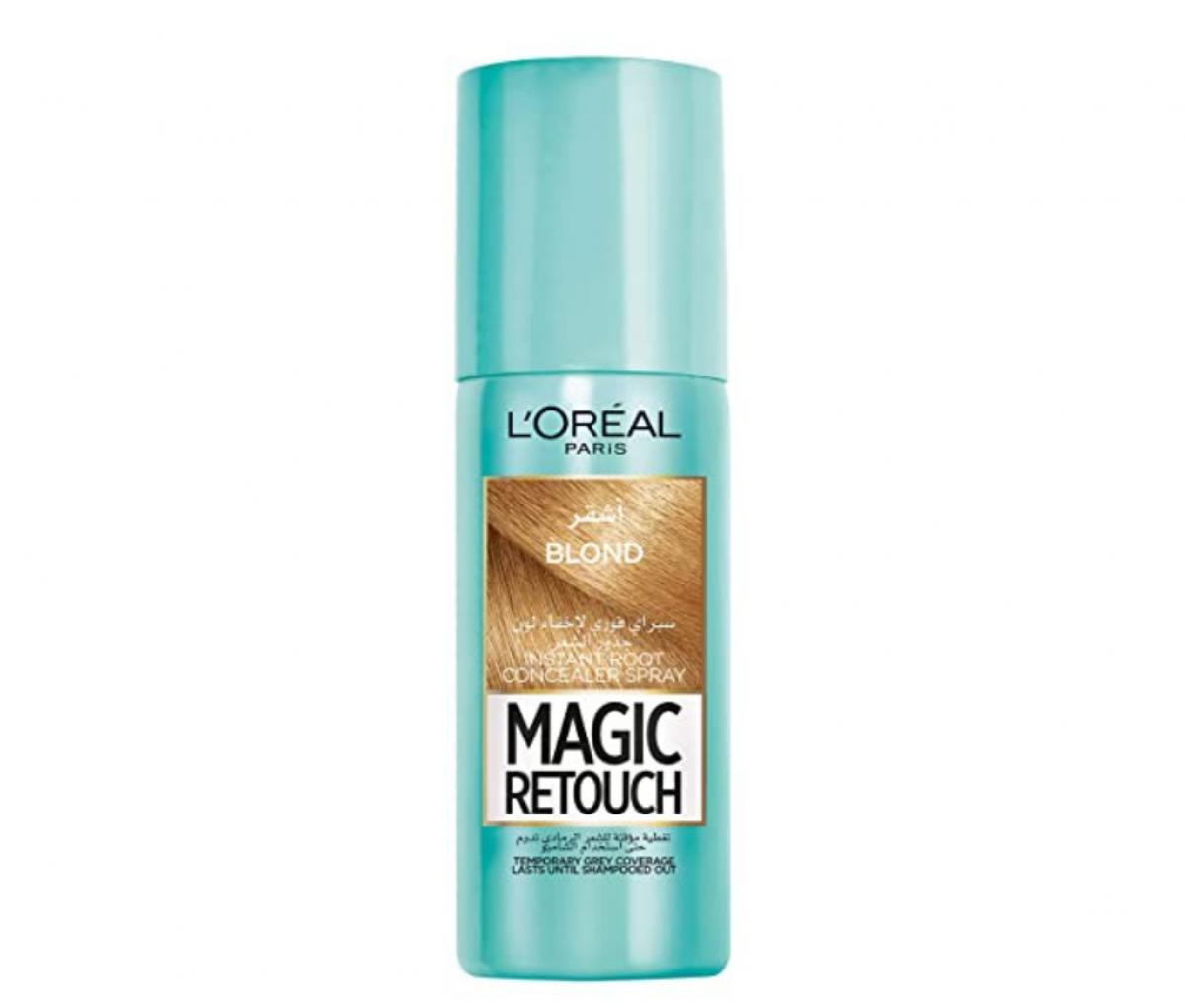Loreal 75ml Magic Retocuh Blond Hair Spray